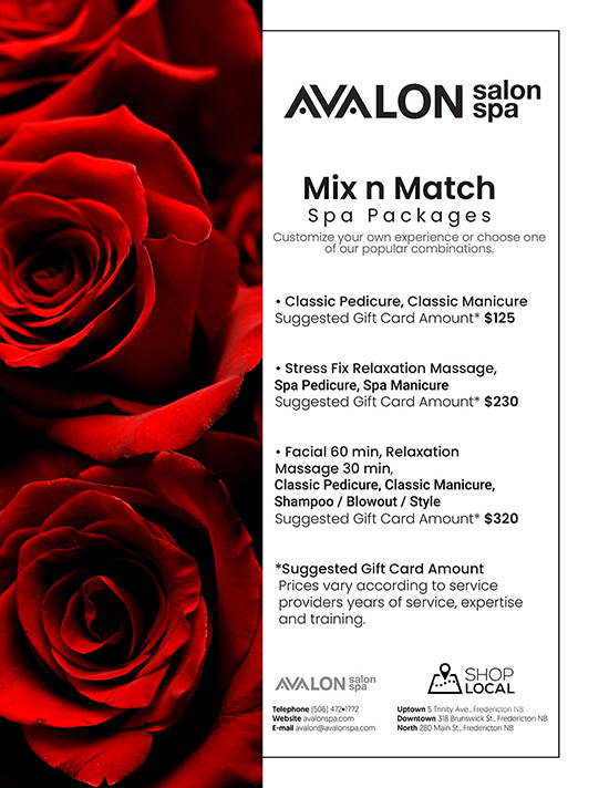 Mix n Match Spa Packages