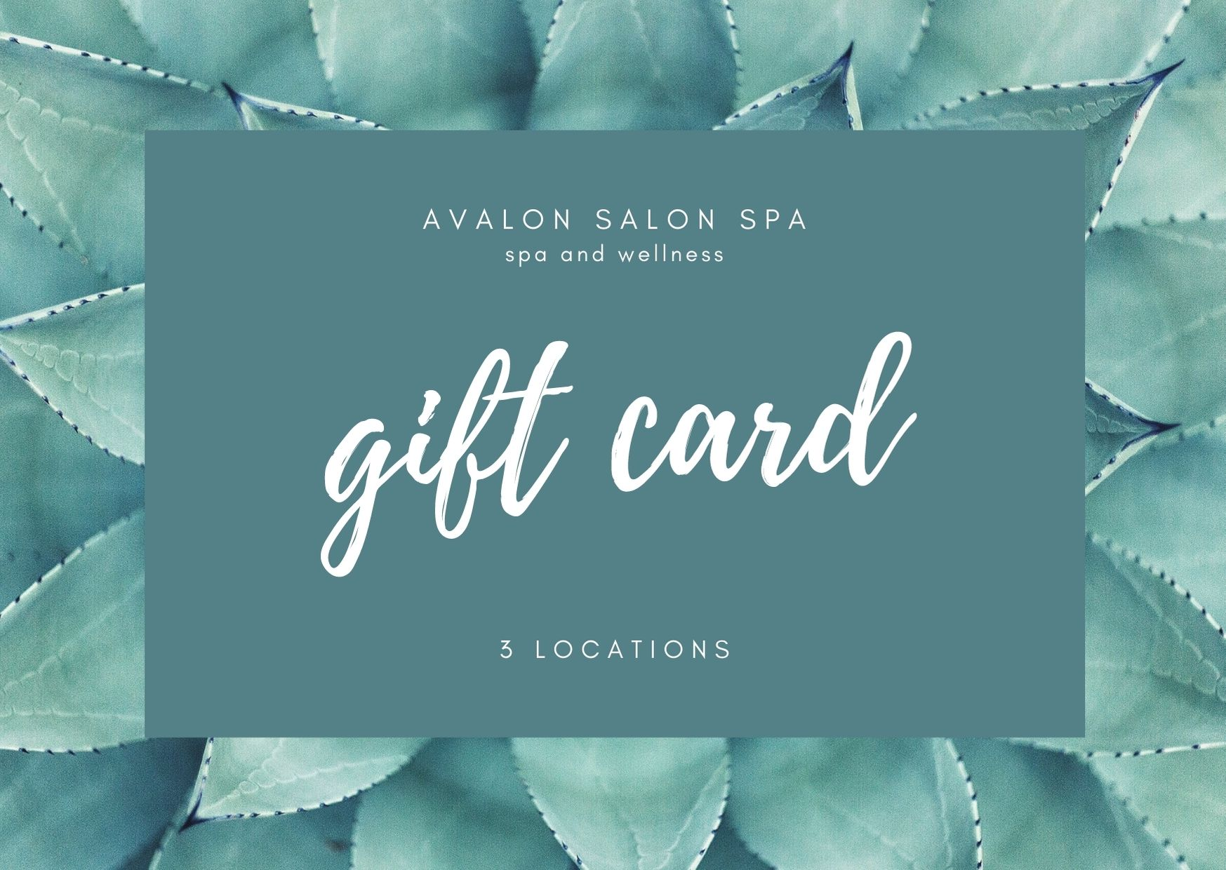avalon salon spa Gift Card